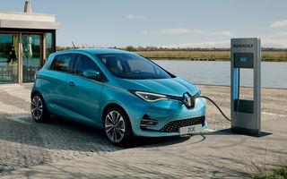 Topul celor mai vândute mașini electrice din Europa în 2020: Renault Zoe a învins Tesla Model 3 și VW ID.3