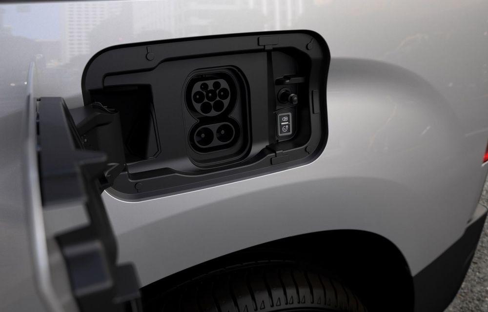 Peugeot lansează noul e-Partner: motor electric cu 136 CP și 275 de kilometri autonomie - Poza 12