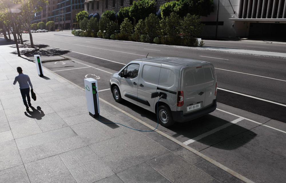 Peugeot lansează noul e-Partner: motor electric cu 136 CP și 275 de kilometri autonomie - Poza 3