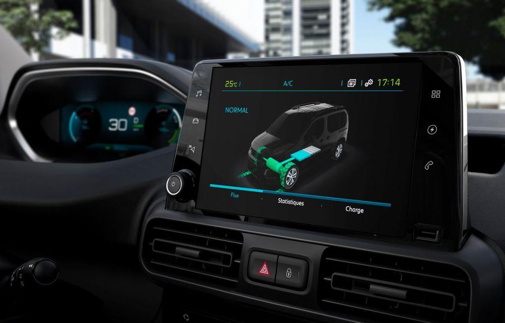 Peugeot lansează noul e-Partner: motor electric cu 136 CP și 275 de kilometri autonomie - Poza 15