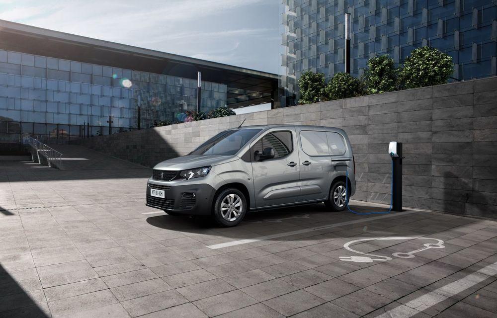 Peugeot lansează noul e-Partner: motor electric cu 136 CP și 275 de kilometri autonomie - Poza 2