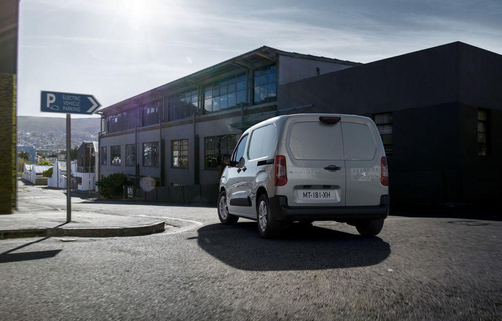 Peugeot lansează noul e-Partner: motor electric cu 136 CP și 275 de kilometri autonomie - Poza 9