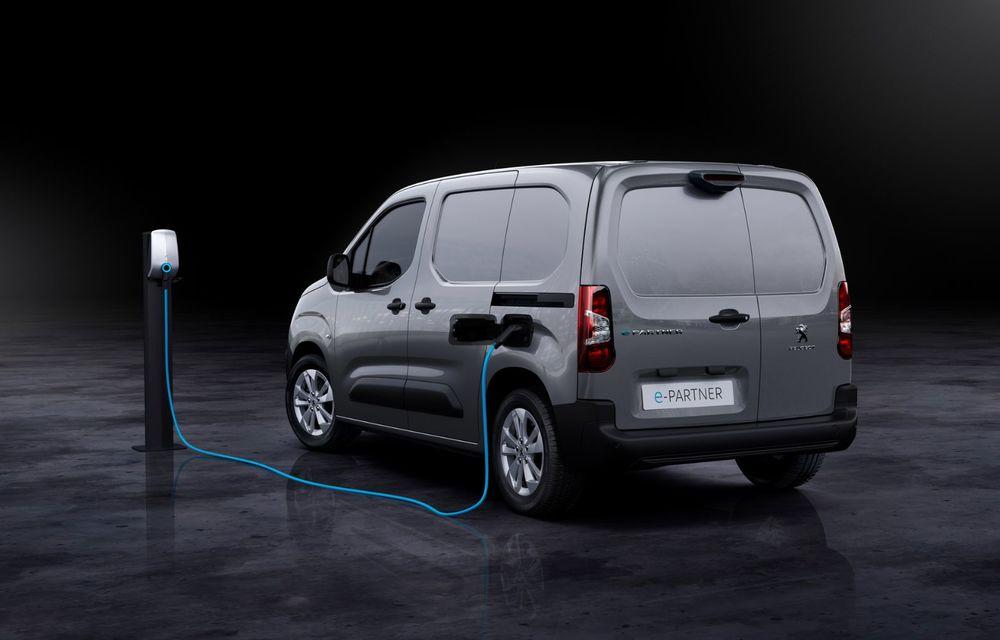 Peugeot lansează noul e-Partner: motor electric cu 136 CP și 275 de kilometri autonomie - Poza 7