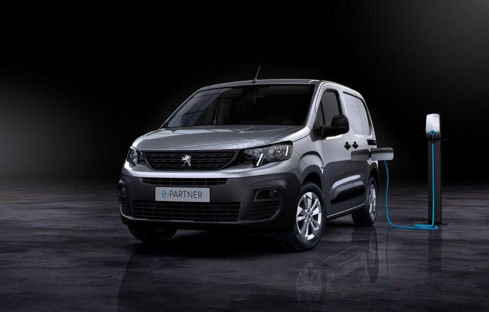 Peugeot lansează noul e-Partner: motor electric cu 136 CP și 275 de kilometri autonomie - Poza 6