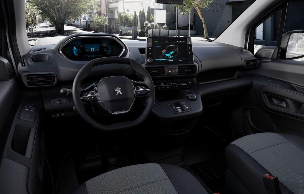 Peugeot lansează noul e-Partner: motor electric cu 136 CP și 275 de kilometri autonomie - Poza 18