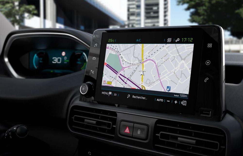 Peugeot lansează noul e-Partner: motor electric cu 136 CP și 275 de kilometri autonomie - Poza 16