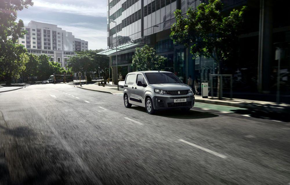 Peugeot lansează noul e-Partner: motor electric cu 136 CP și 275 de kilometri autonomie - Poza 4