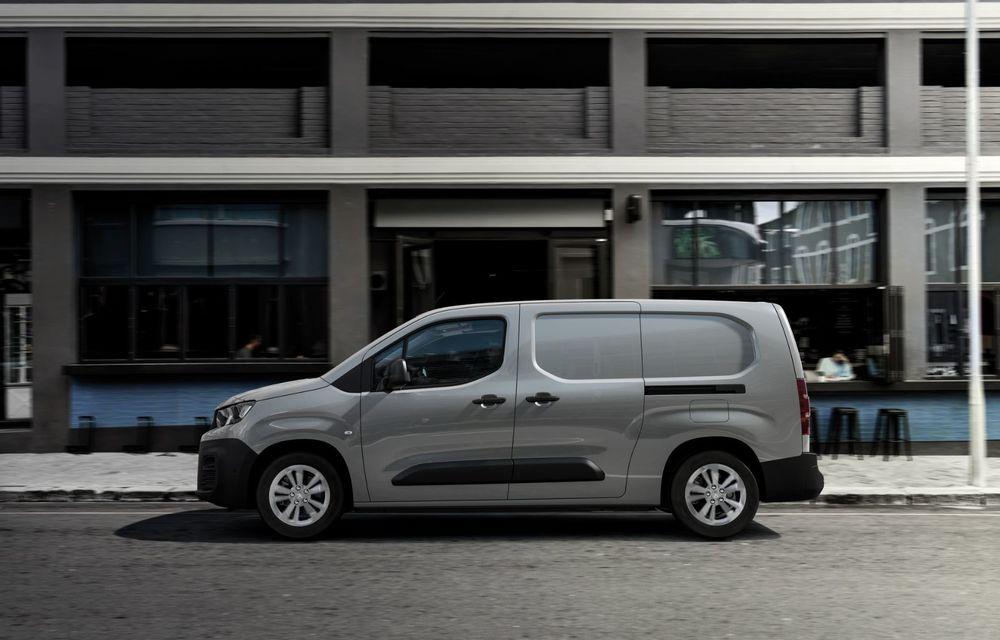 Peugeot lansează noul e-Partner: motor electric cu 136 CP și 275 de kilometri autonomie - Poza 10