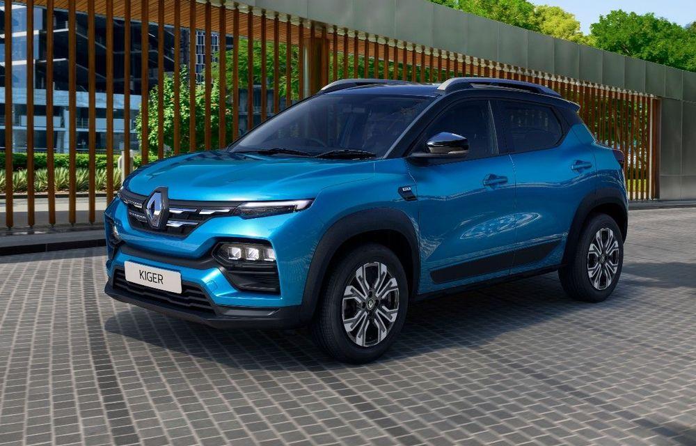 Renault prezintă Kiger: un nou SUV de serie pentru piața din India - Poza 1