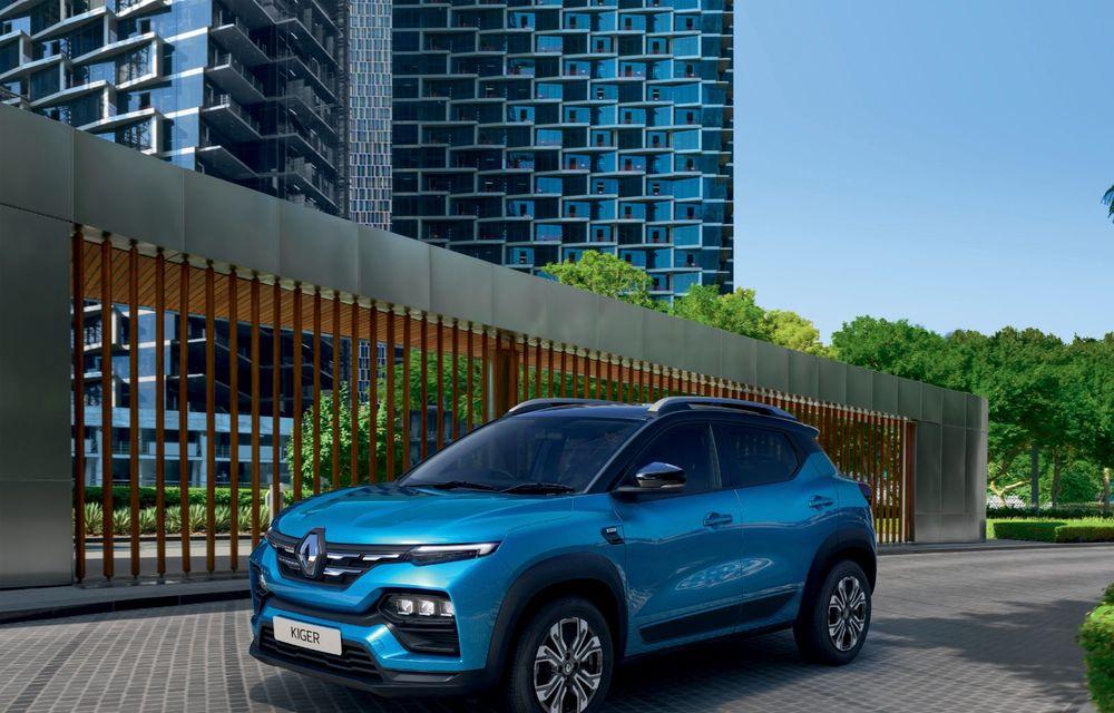 Renault prezintă Kiger: un nou SUV de serie pentru piața din India - Poza 2