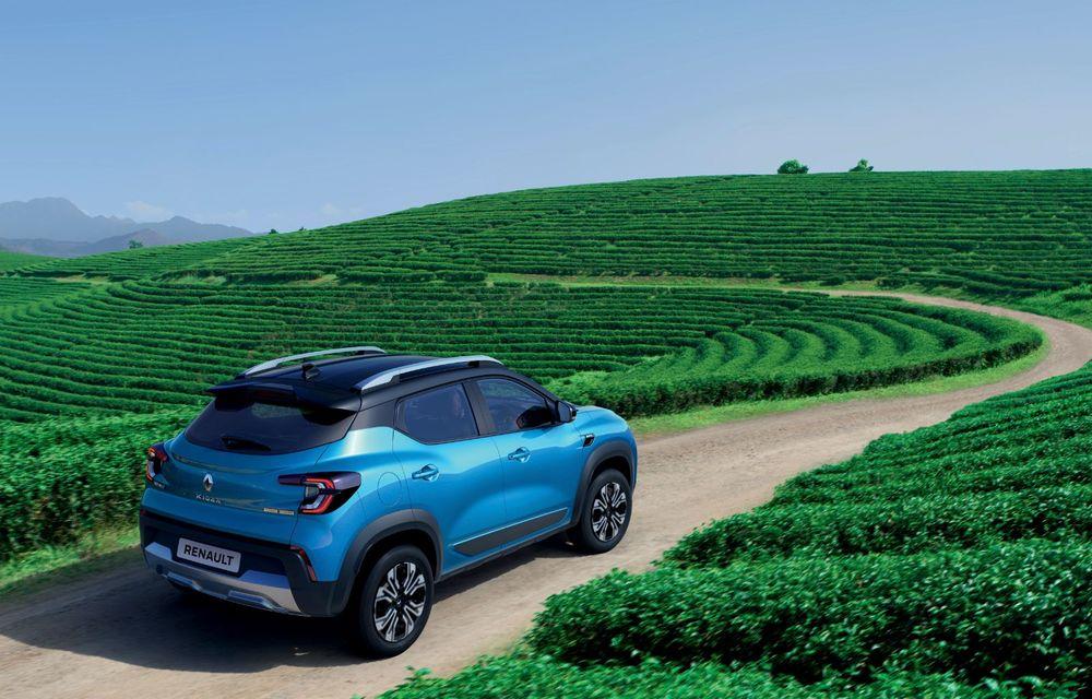 Renault prezintă Kiger: un nou SUV de serie pentru piața din India - Poza 7
