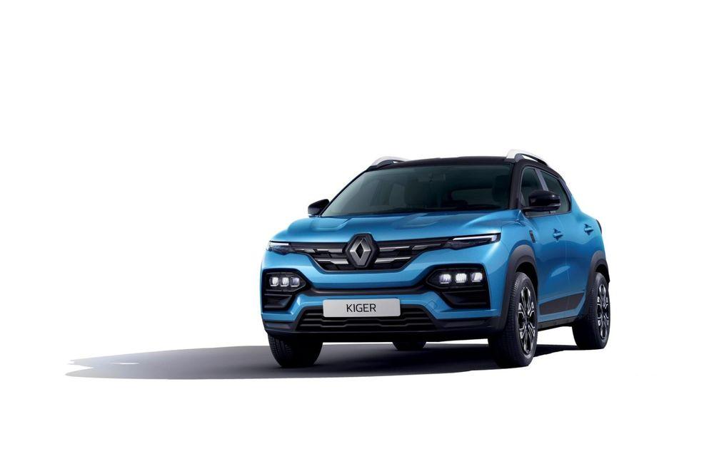 Renault prezintă Kiger: un nou SUV de serie pentru piața din India - Poza 13