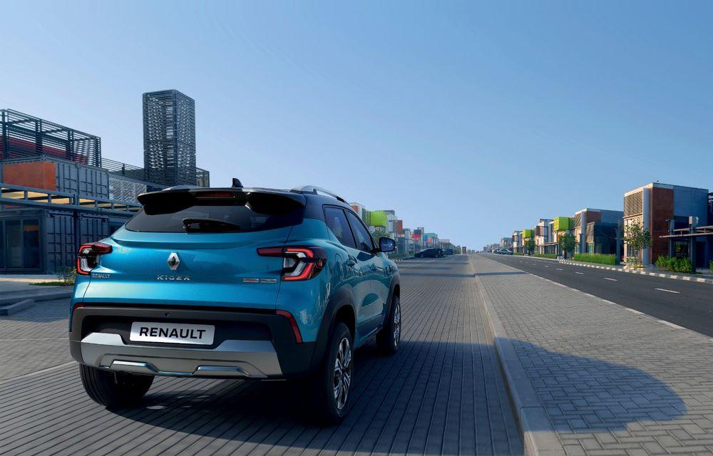 Renault prezintă Kiger: un nou SUV de serie pentru piața din India - Poza 6