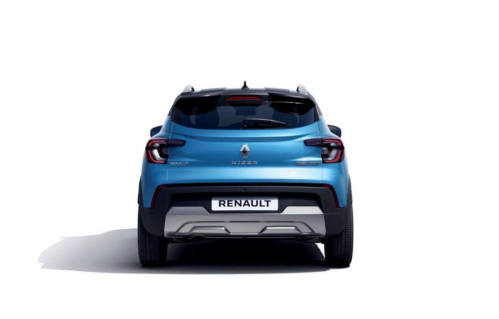 Renault prezintă Kiger: un nou SUV de serie pentru piața din India - Poza 10