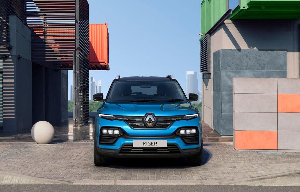 Renault prezintă Kiger: un nou SUV de serie pentru piața din India - Poza 5