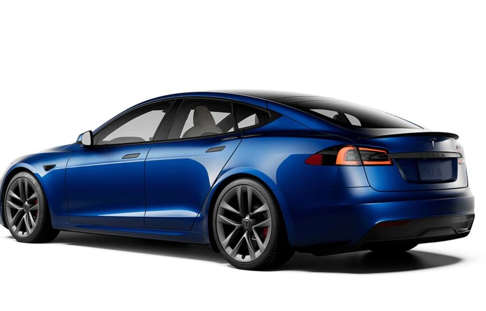 Tesla a lansat cel mai performant Model S din istorie: 1100 CP și autonomie de peste 840 de kilometri - Poza 7