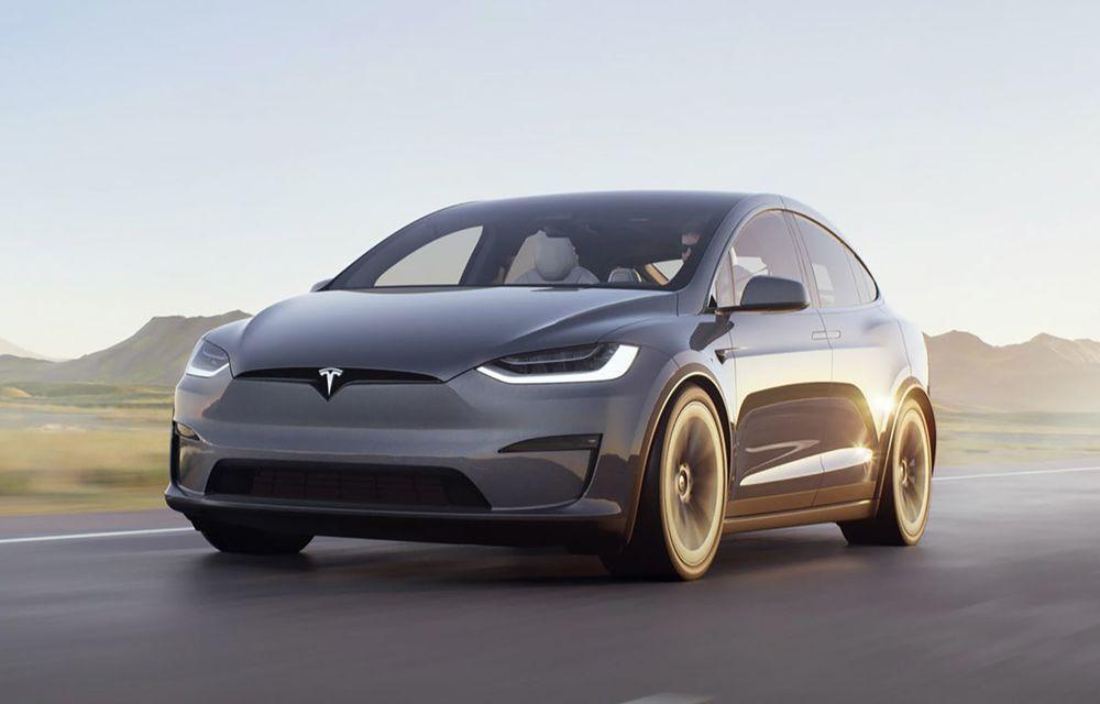 Tesla Model X facelift: până la 1020 CP și un volan care stârnește multe controverse - Poza 7