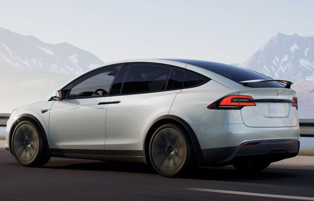 Tesla Model X facelift: până la 1020 CP și un volan care stârnește multe controverse - Poza 2