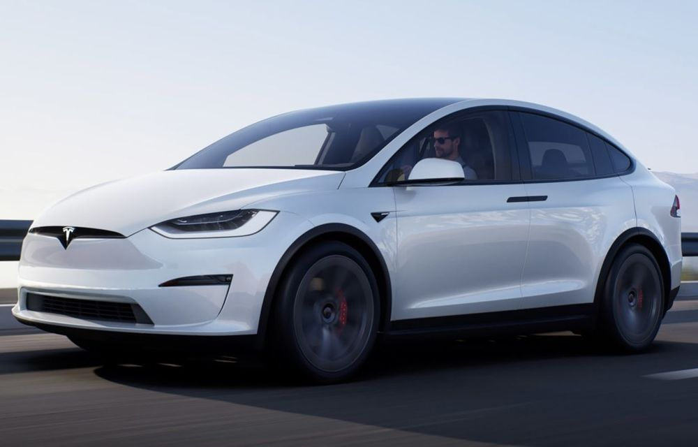 Tesla Model X facelift: până la 1020 CP și un volan care stârnește multe controverse - Poza 3