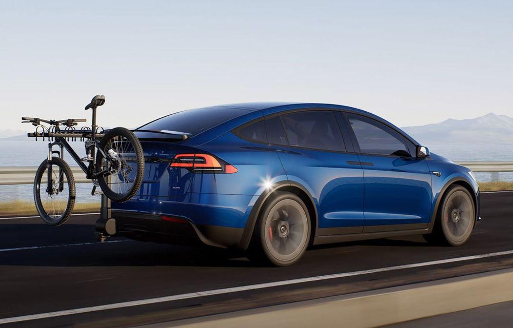 Tesla Model X facelift: până la 1020 CP și un volan care stârnește multe controverse - Poza 5
