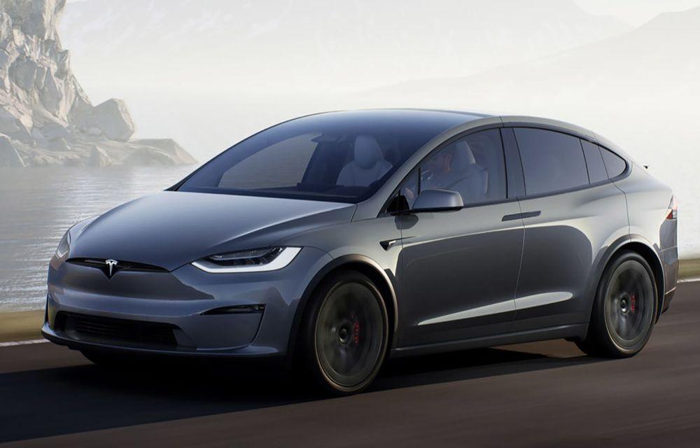 Tesla Model X facelift: până la 1020 CP și un volan care stârnește multe controverse - Poza 1