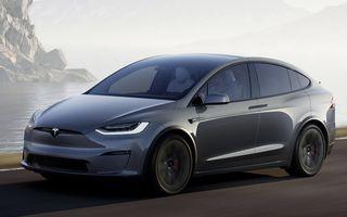 Tesla Model X facelift: până la 1020 CP și un volan care stârnește multe controverse