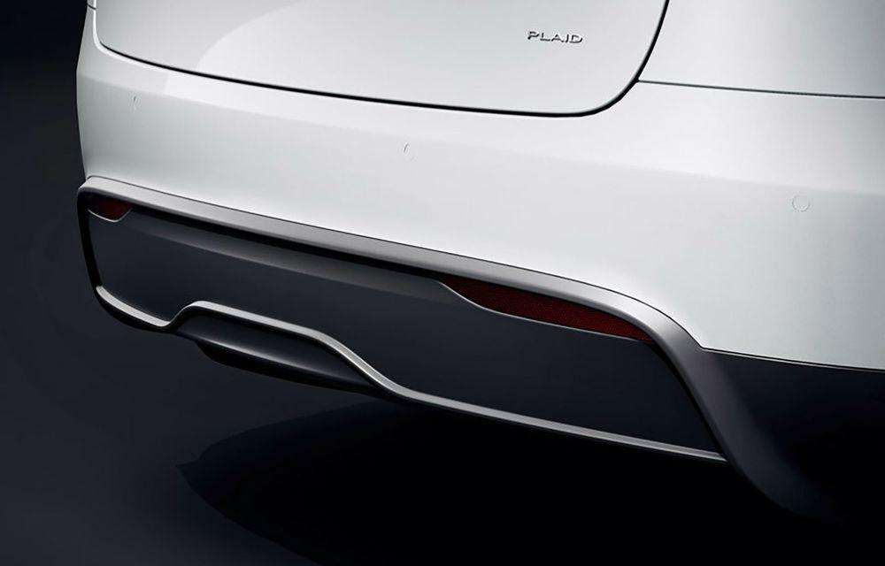 Tesla Model X facelift: până la 1020 CP și un volan care stârnește multe controverse - Poza 16