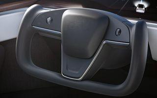 Autoritățile din America vor investiga cât de sigur este noul volan instalat de Tesla pe Model S și Model X