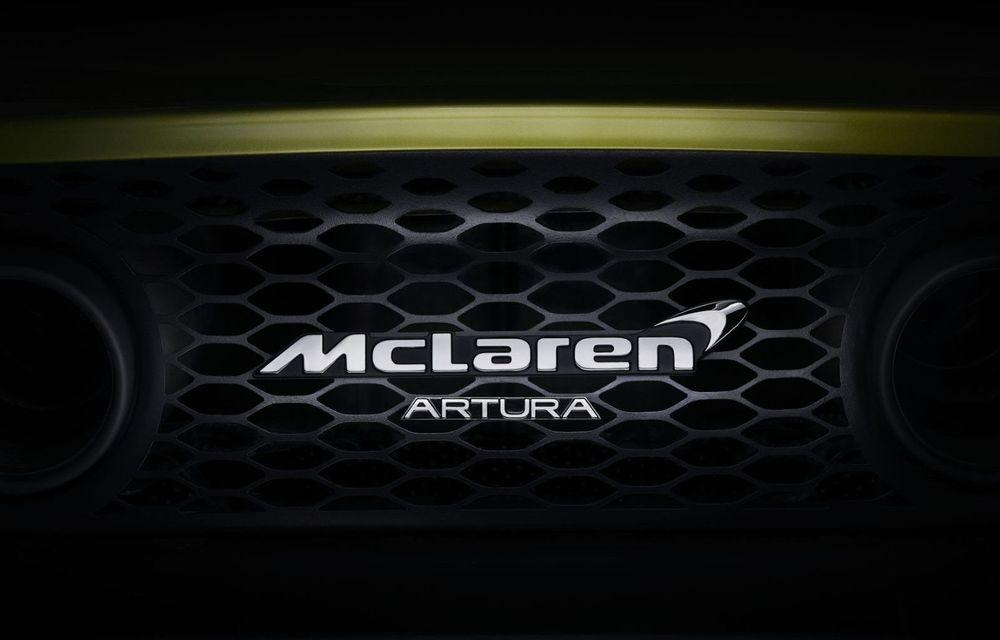 Detalii despre supercar-ul McLaren Artura: prezentare în 16 februarie - Poza 1