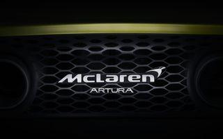 Detalii despre supercar-ul McLaren Artura: prezentare în 16 februarie