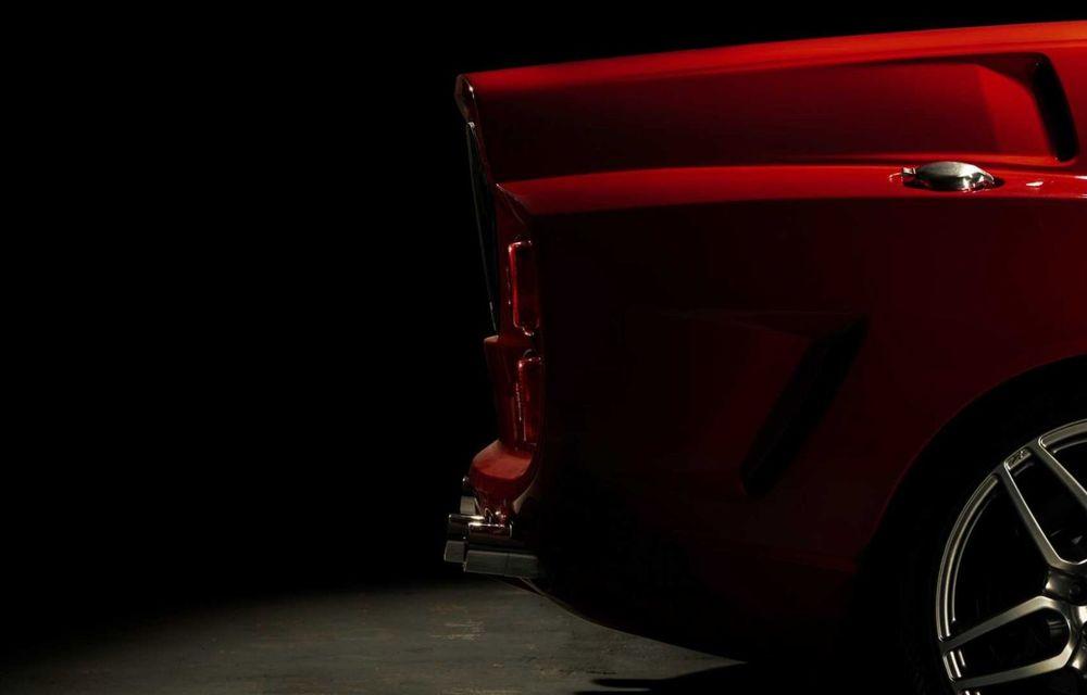 """Replica modernă a unui Ferrari din 1962, botezat """"mașina de pâine: Breadvan Hommage - Poza 15"""