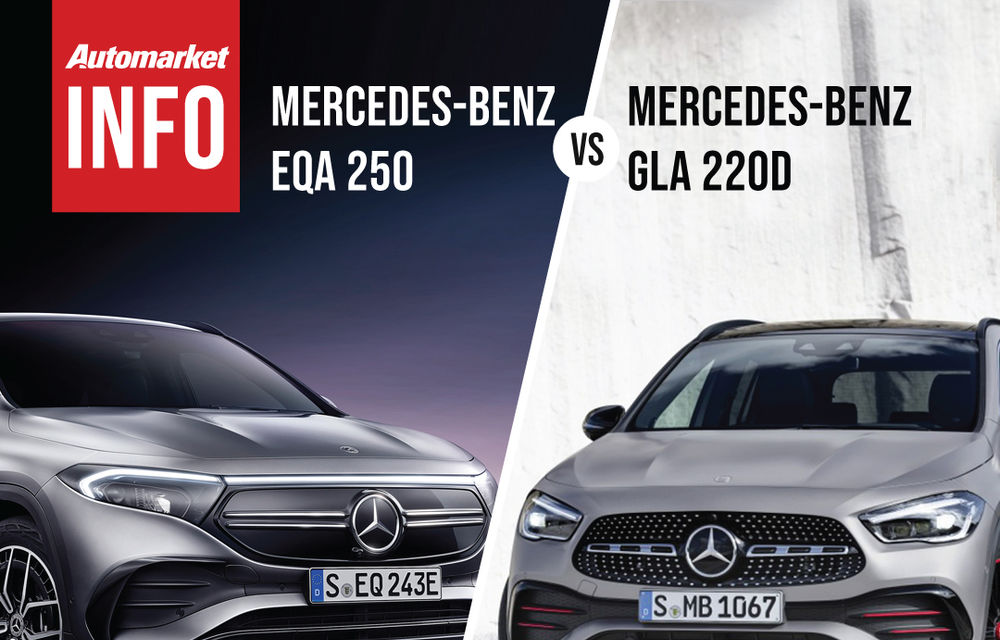 AUTOMARKET INFO: Comparație între Mercedes-Benz EQA și Mercedes-Benz GLA - Poza 5