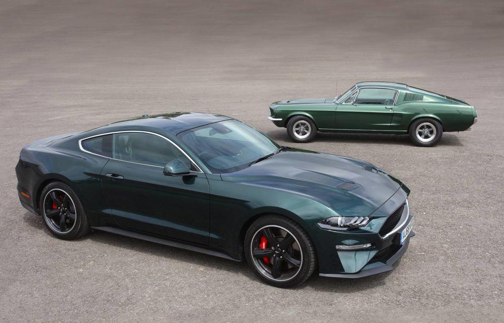 Rămas bun, Ford Mustang Bullit! Locul său va fi luat de viitorul Mustang Mach 1 - Poza 1
