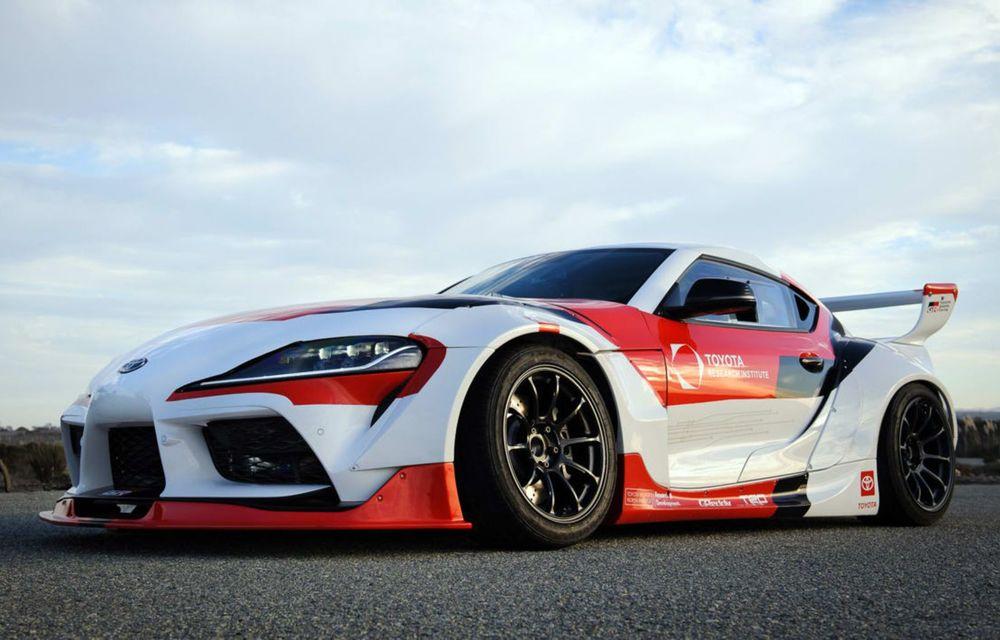 Toyota Supra, transformată într-o mașină complet autonomă care știe să facă și drifturi - Poza 2