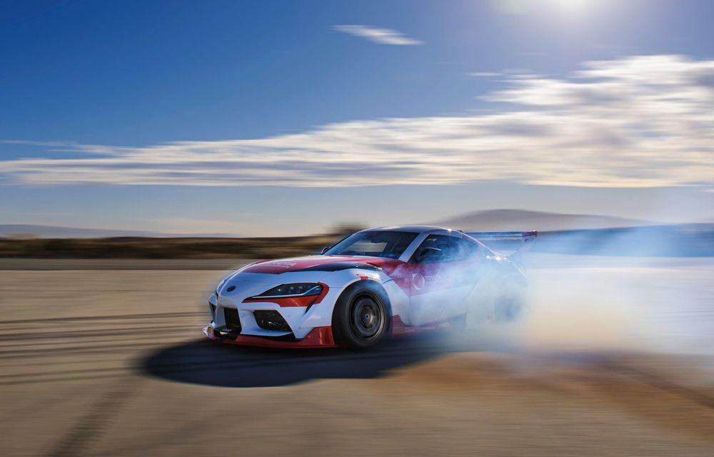 Toyota Supra, transformată într-o mașină complet autonomă care știe să facă și drifturi - Poza 1