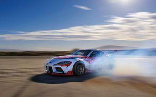Toyota Supra, transformată într-o mașină complet autonomă care știe să facă și drifturi