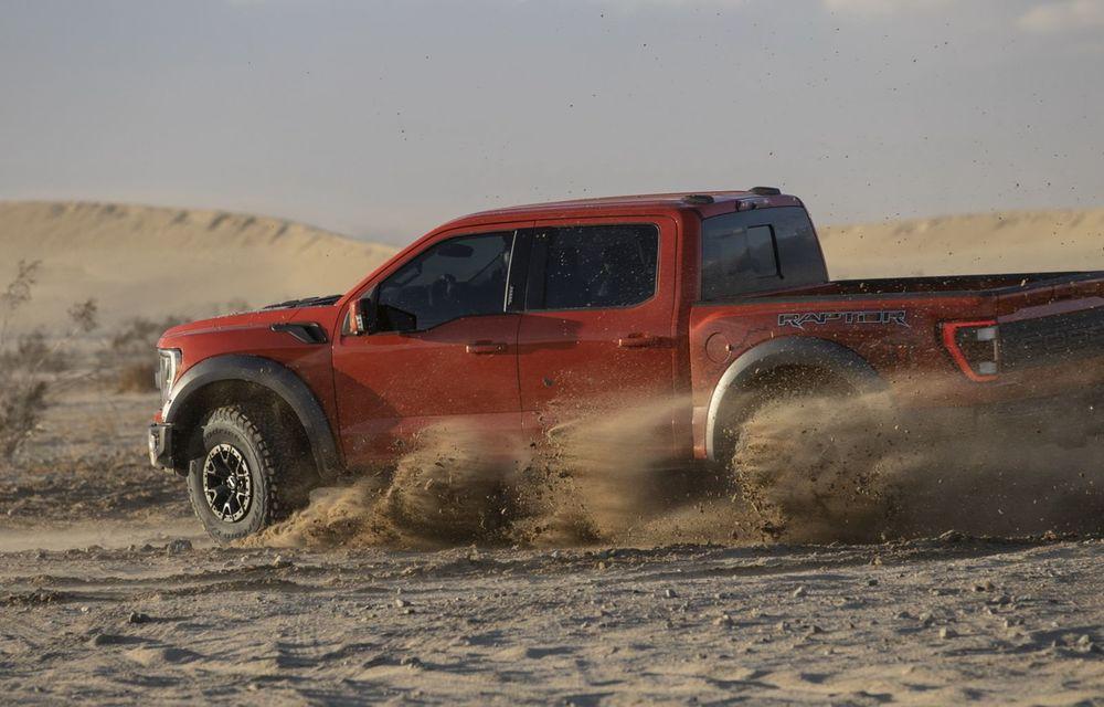 Acesta este noul Ford F-150 Raptor, cea mai puternică versiune a pick-up-ului american - Poza 7