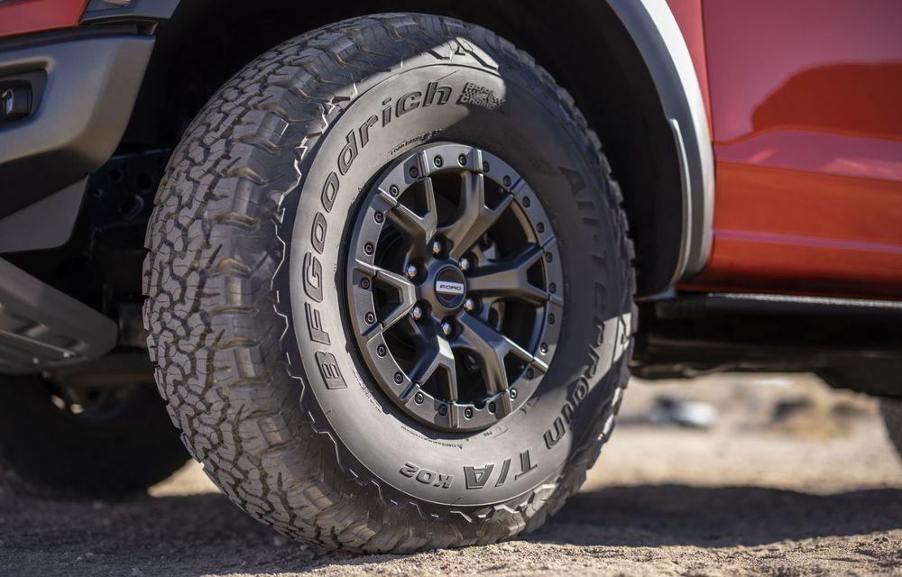Acesta este noul Ford F-150 Raptor, cea mai puternică versiune a pick-up-ului american - Poza 9