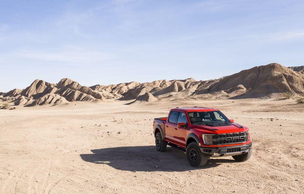 Acesta este noul Ford F-150 Raptor, cea mai puternică versiune a pick-up-ului american - Poza 16