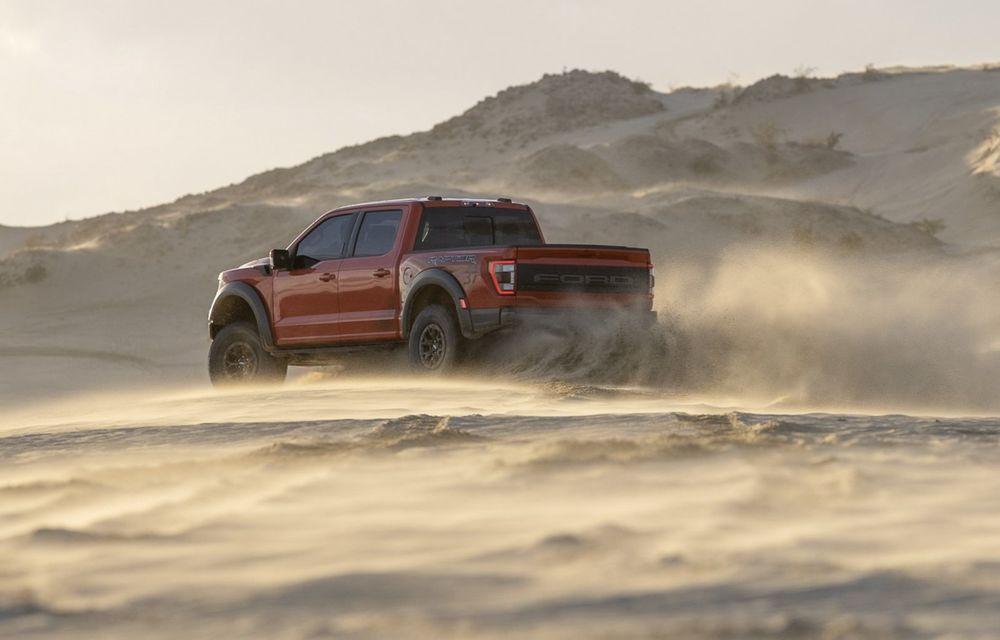 Acesta este noul Ford F-150 Raptor, cea mai puternică versiune a pick-up-ului american - Poza 15