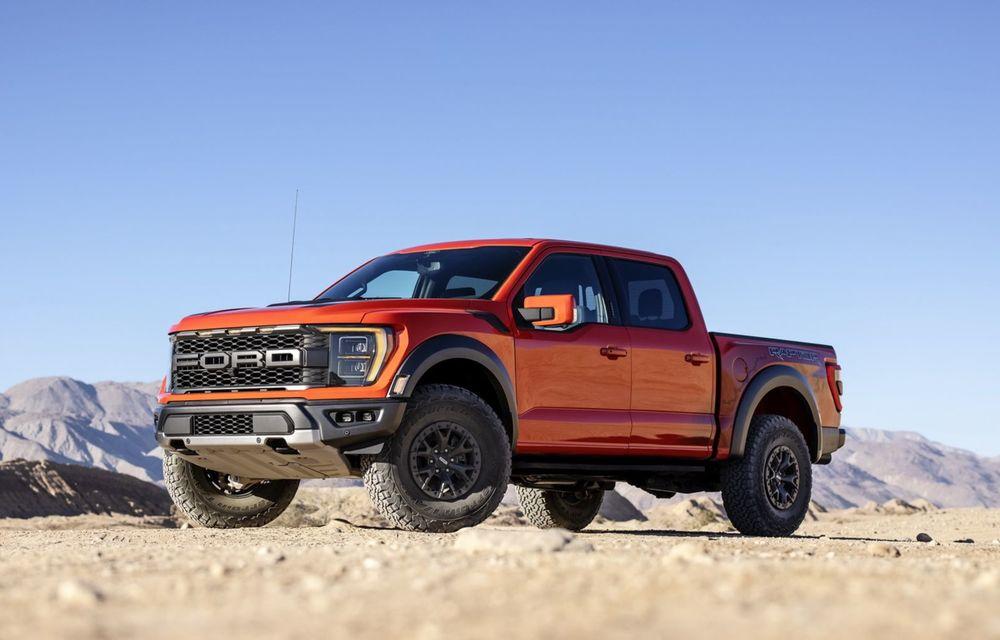 Acesta este noul Ford F-150 Raptor, cea mai puternică versiune a pick-up-ului american - Poza 17