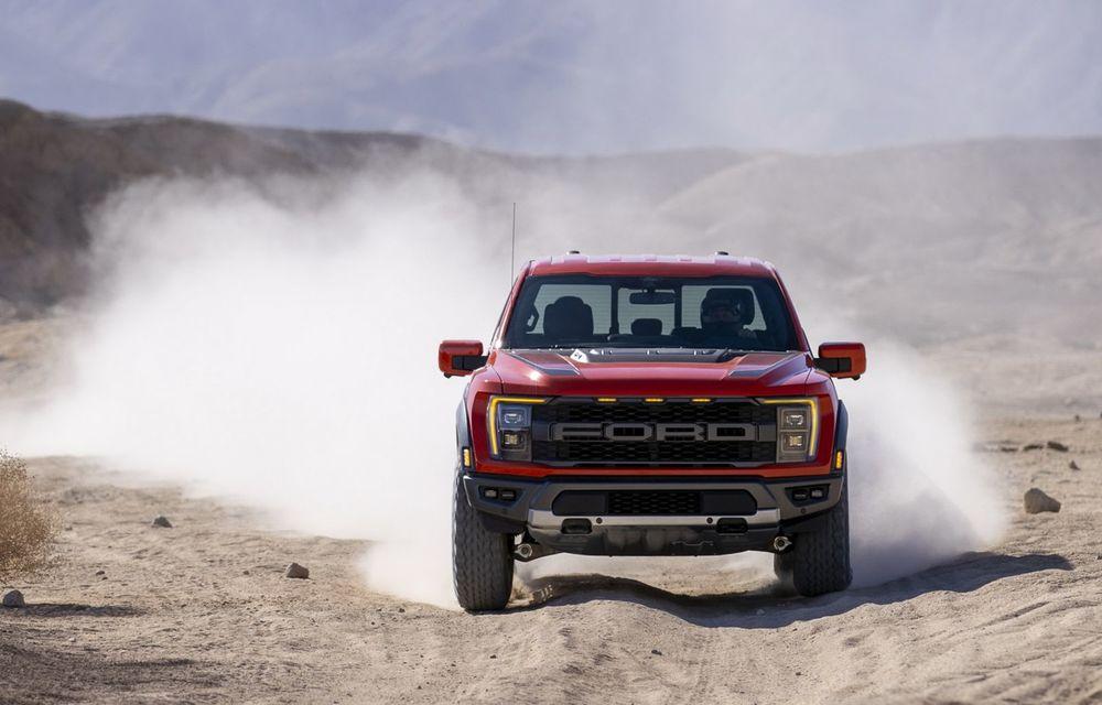 Acesta este noul Ford F-150 Raptor, cea mai puternică versiune a pick-up-ului american - Poza 12