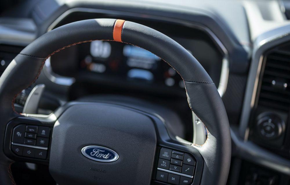 Acesta este noul Ford F-150 Raptor, cea mai puternică versiune a pick-up-ului american - Poza 26