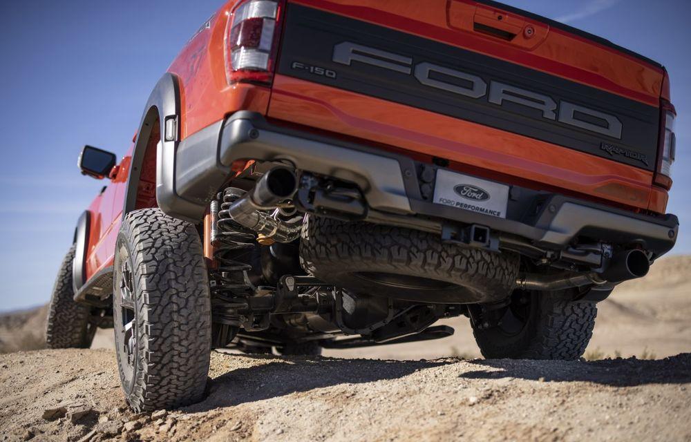 Acesta este noul Ford F-150 Raptor, cea mai puternică versiune a pick-up-ului american - Poza 8