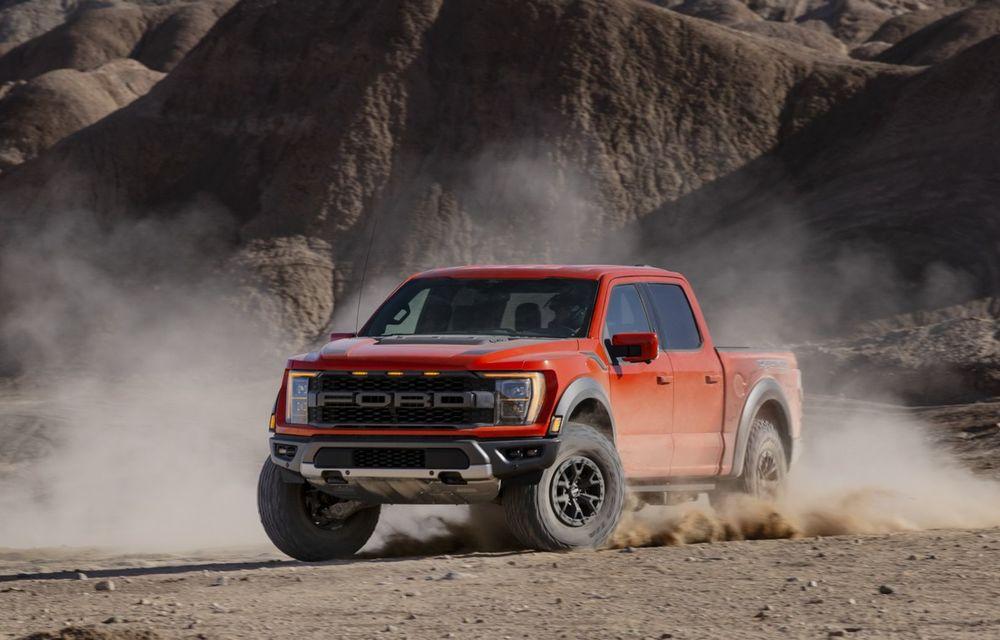 Acesta este noul Ford F-150 Raptor, cea mai puternică versiune a pick-up-ului american - Poza 10