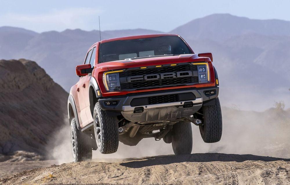 Acesta este noul Ford F-150 Raptor, cea mai puternică versiune a pick-up-ului american - Poza 2