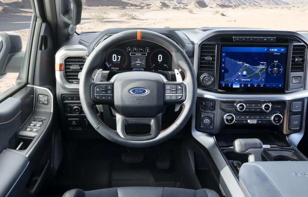Acesta este noul Ford F-150 Raptor, cea mai puternică versiune a pick-up-ului american - Poza 23