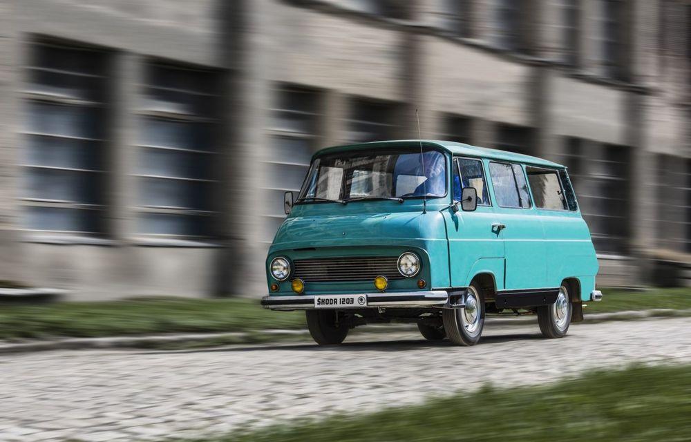 Vechiul model Skoda 1203 renaște ca un concept modern, dedicat ieșirilor în aer liber - Poza 6