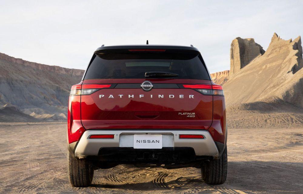 Îl mai țineți minte pe Nissan Pathfinder? O nouă generație a fost lansată în America - Poza 23