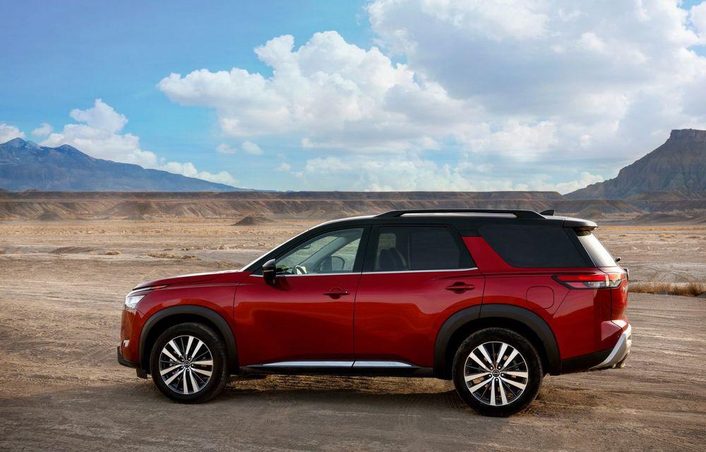 Îl mai țineți minte pe Nissan Pathfinder? O nouă generație a fost lansată în America - Poza 18